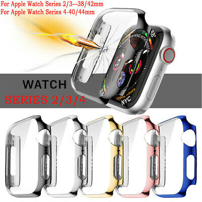Apple Watch Series 4 Full Body Hard Case Cover Screen Protector 40mm 44mm