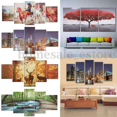 HD Canvas Print Modern Scenery Animal Wall Art Oil Painting Home Decor