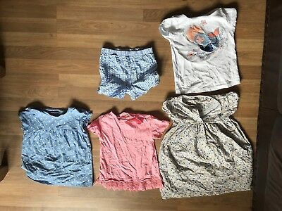 Small Joblot Bundle of 5 Items of Clothing for a Girl Aged between 4-5 Years Old