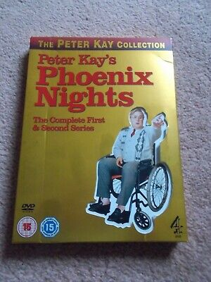 Peter Kays Phoenix Nights. Complete First & Second Series Plus Soundtrack Cd