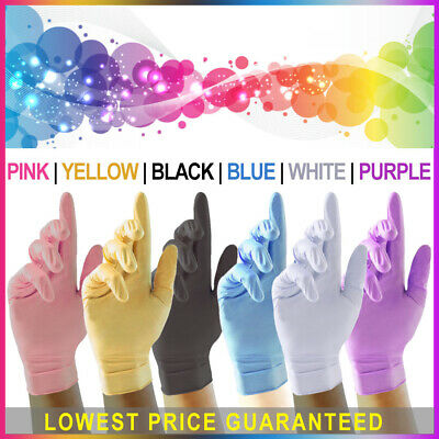 Strong Nitrile Disposable Gloves | Powder Free Latex Free | Multipurpose