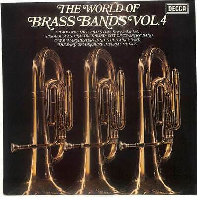 Various - The World Of Brass Bands Vol. 4 - LP Vinyl Record