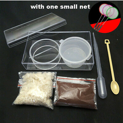 Brine Shrimp Artemia Eggs and Salt All in one Harvesting Kit Incubator Hatchery
