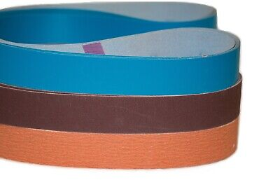 "2"" x 72"" Sanding Belts Ultimate Knife Makers Variety Pack (18pcs)"