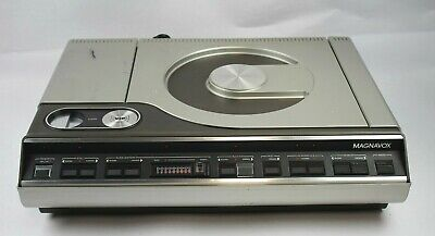Vintage Magnavox Magnavision Videodisc Player Model 8000 with Manual and Discs