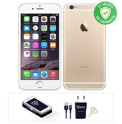 Apple iPhone 6 / 16GB / Oro / Libre / Reacondicionado
