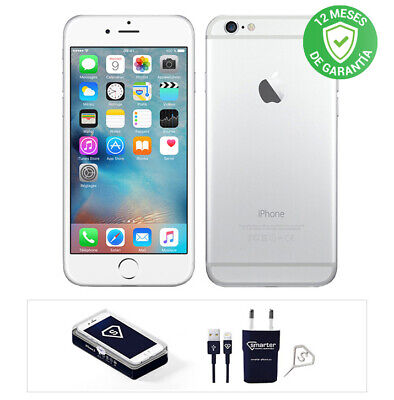 Apple iPhone 6 / 16GB / Plata / Libre / Reacondicionado