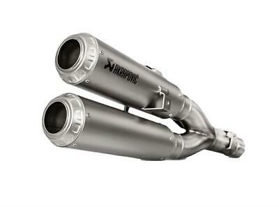 Akrapovic Race Exhaust Twin Stack Stainless Steel Slip On Honda Monkey 125 2018