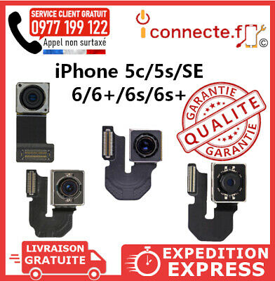 Camera Arriere Apn Back Rear Appariel Photo Iphone 5Se / 5S / 5C / 6 / 6S / Plus