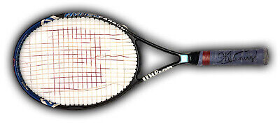 Match Game Used Tennis Racquet SIGNED by Both Serena Williams and Venus Williams