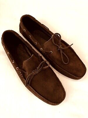 Fleet /& Foster Gordon Leather Dual Fit Moccasin Style Mens Slip On Shoes UK 7-12