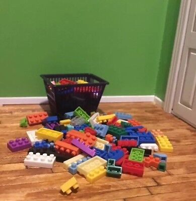 Dollhouse Blocks Toy Playroom Kids Miniatures Lot Micro Blocks 50pcs