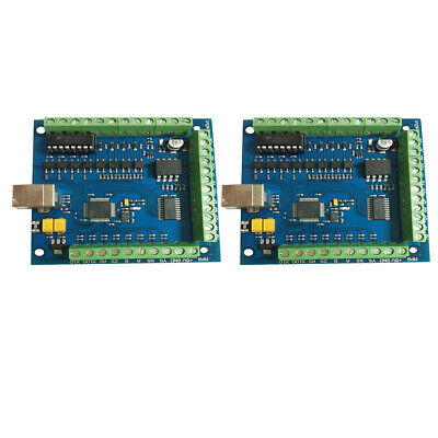 2xCNC  USB 4-AXIS Smooth Stepper Motion Controller Card Breakout Board
