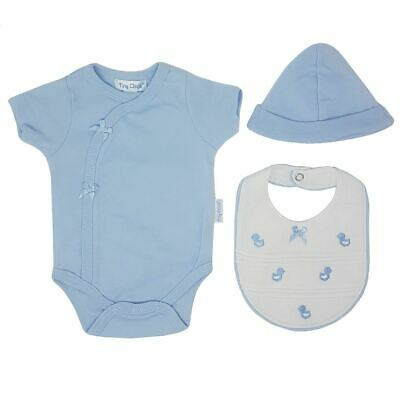 Premature Baby Clothes Sky 3 Piece Gift Set Preemie Early Tint Cotton