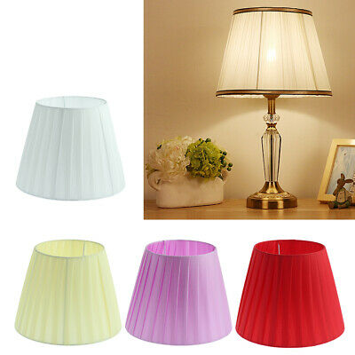 Modern Fabric Easy Fit Ceiling Pendant Drum Light Shades Table Lampshade