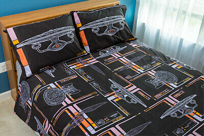 Star Trek TNG LCARS Duvet Cover and Pillowcases
