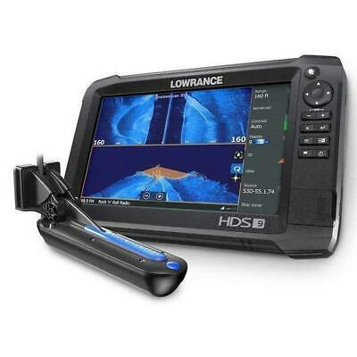 Lowrance HDS 9 Carbon Multifunction Display w/Totalscan Ducer & Insight USA Maps