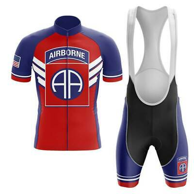 82ND AIRBORNE DIVISION - Short Sleeve Cycling Jersey