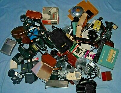 #M9 - A Joblot Of Camera  / Photo Bits And Accessories