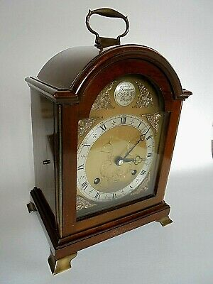 Large Elliott Striking Mantel Bracket Clock