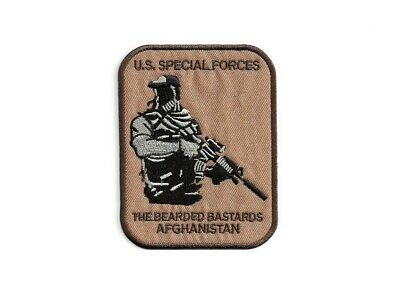 Ecusson BEARDED BASTARDS AFGHANISTAN US Special Forces army patch parche toppa