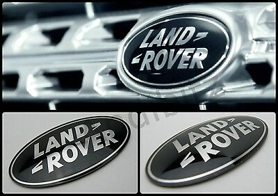Land Rover D4 2009 Big Bigger Discovery 4 Supercharged Grille Grill Black Badge