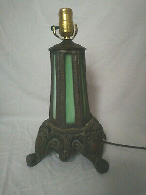 Antique / Vintage POUL HENNINGSEN Art Nouveau Slag Glass Lamp