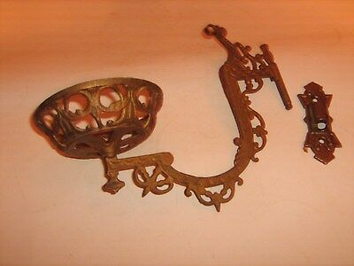 Victorian Wall Sconce Lamp Parts for Restoration