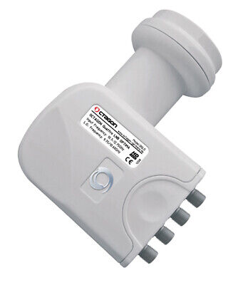 OCTAGON OPTIMA OQLO 0.1db Quattro LNB Satellite HD / 3D for Multiswitch Only