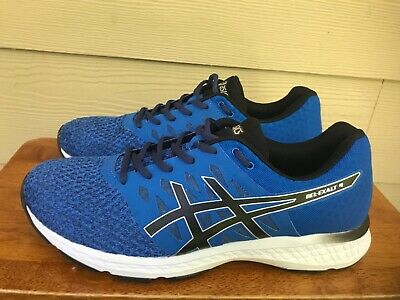 info for c3313 5e223 Asics Gel-Exalt 4 Men s Athletic Running Shoes Blue Black Size 10