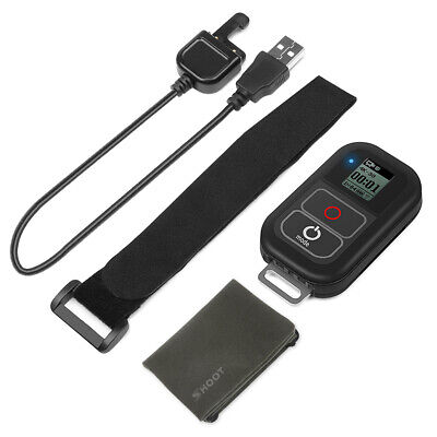 SHOOT Waterproof Smart WiFi LCD Remote Controller for GoPro Action Camera N0A3