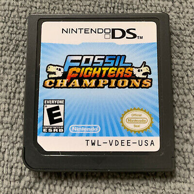 Fossil Fighters:Champions for Nintendo DS/3DS Original USA [Game Cartridge Only]