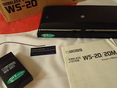 Boss Wt-20 Wireless Guitar System