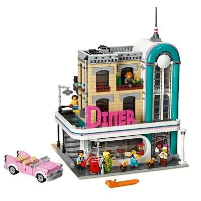 LEGO Creator Expert 2018 Downtown 1950s-Style Diner Lego City 10260 Modular New