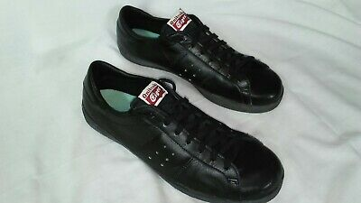 new product 7a629 3fcd9 ONITSUKA TIGER MENS size 9.5 US all Black Shoes 28.0 asics nice made in  japan