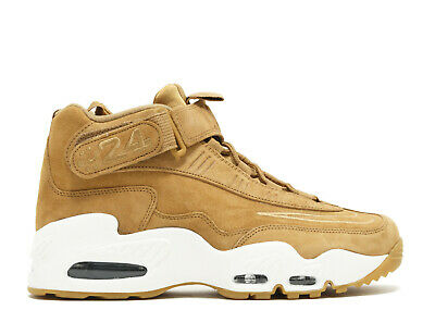 1819e5f9f0 Nike Air Griffey Max 1 354912-200 Flax Wheat White Ken Giffey Jr Retro Size