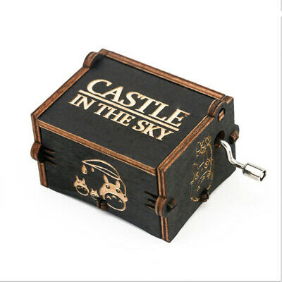 Hand Shake Music Box Classic Musical Box Retro-Style Wooden Hand-Carved