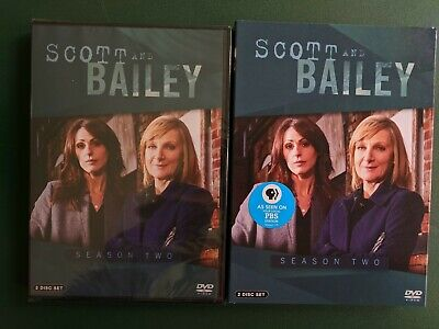 Scott and Bailey: Season Two, 2 DVDs, SEALED, New, Ohio Seller, Free Shipping