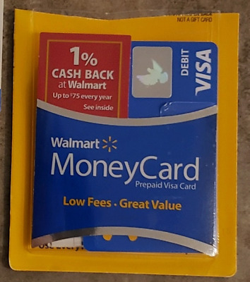 Walmart prepaid card with $50 Loaded on it