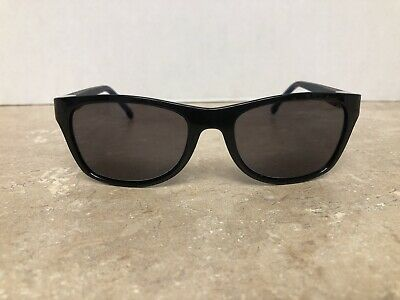 aac06011b61d LACOSTE Sunglasses L503S 003 Black Frame Black Lens Silver Accent MADE IN  ITALY