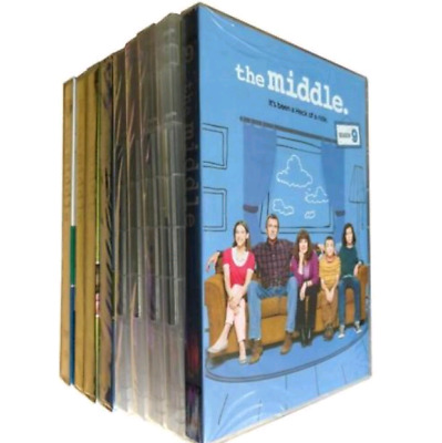 The Middle Complete Series Seasons 1-9 (DVD 27 Disc Box Set) 1 2 3 4 5 6 7 8 9