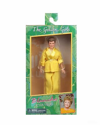"""Golden Girls - 8"""" Clothed Action Figure – BLANCHE - NECA"""