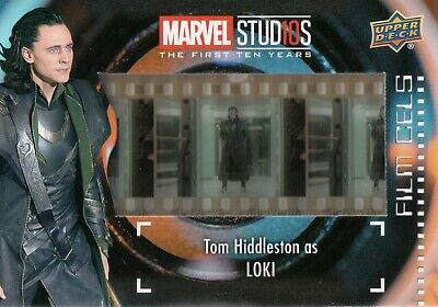 Marvel The First Ten (10) Years, Tom Hiddleston 'Loki' Film Cell Card FC-5