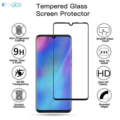 NUGLAS 3D For Huawei P30 PRO Lite Full Curved Tempered Glass Screen Protector