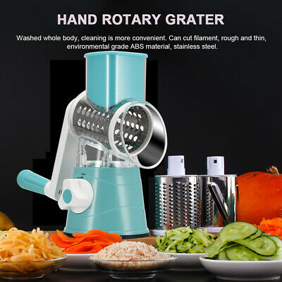 Vegetable Mandoline Fruit Cutter Cheese Shredder Drum Kitchen
