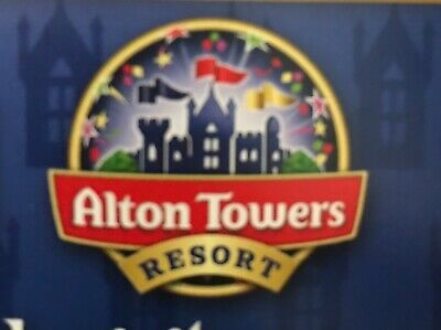 Alton Towers Tickets x 2  for 13/9/19