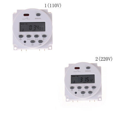 LCD Power Digital 110V/220V AC/DC 7 Days Programmable Timer Time Switch FY