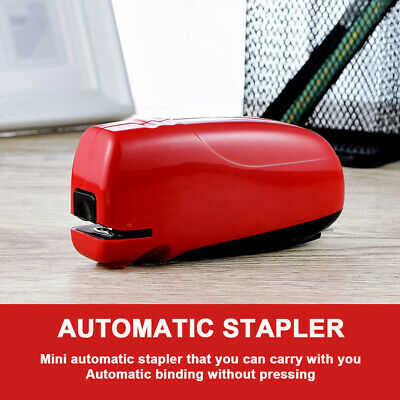 Electric Automatic Stapler Binding Machine Paper Stapler for School Office Home