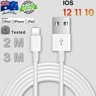 Certified USB Lightning Cable Cord Data For Apple Charger iPhone iPad X XS 8 7 6