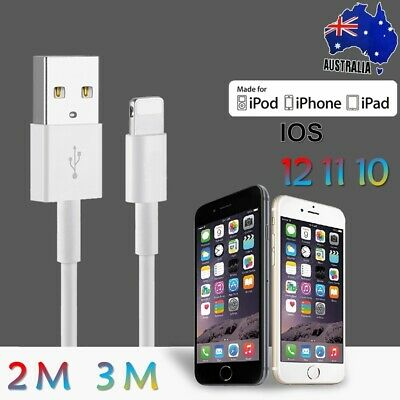 Certified USB Lightning Cable Cord Data For Apple Charger iPhone iPad X XR 8 7 6